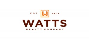 Logo design for Watts Realty
